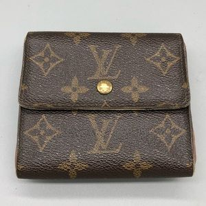 Authentic Louis Vuitton LV double side snap wallet